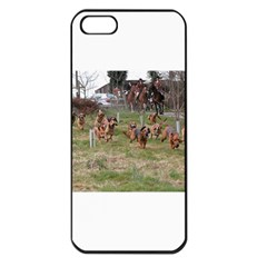 Bloodhounds Working Apple iPhone 5 Seamless Case (Black)