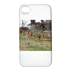 Bloodhounds Working Apple iPhone 4/4S Hardshell Case with Stand