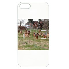 Bloodhounds Working Apple iPhone 5 Hardshell Case with Stand