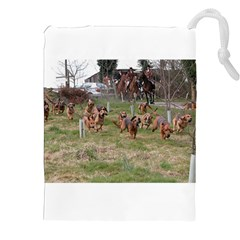 Bloodhounds Working Drawstring Pouches (XXL)
