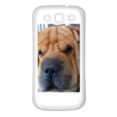 Shar Pei / Chinese Shar Pei Samsung Galaxy S3 Back Case (White)