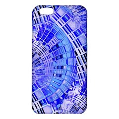 Semi Circles Abstract Geometric Modern Art Blue  Iphone 6 Plus/6s Plus Tpu Case