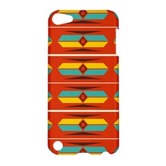 Shapes in retro colors pattern                        			Apple iPod Touch 5 Hardshell Case