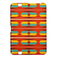 Shapes in retro colors pattern                        			Kindle Fire HD 8.9  Hardshell Case