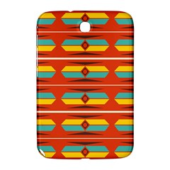 Shapes in retro colors pattern                        			Samsung Galaxy Note 8.0 N5100 Hardshell Case