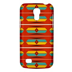 Shapes in retro colors pattern                        			Samsung Galaxy S4 Mini (GT-I9190) Hardshell Case
