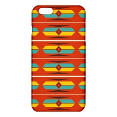 Shapes In Retro Colors Pattern                        			iphone 6 Plus/6s Plus Tpu Case