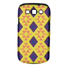 Tribal shapes and rhombus pattern                        Samsung Galaxy S III Classic Hardshell Case (PC+Silicone)