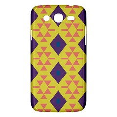 Tribal shapes and rhombus pattern                        			Samsung Galaxy Mega 5.8 I9152 Hardshell Case