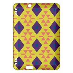 Tribal shapes and rhombus pattern                        Kindle Fire HDX Hardshell Case