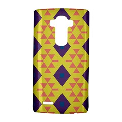 Tribal shapes and rhombus pattern                        			LG G4 Hardshell Case