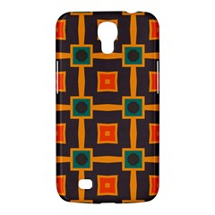 Connected shapes in retro colors                         Samsung Galaxy Mega 6.3  I9200 Hardshell Case