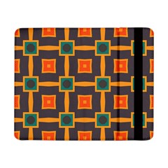 Connected shapes in retro colors                         			Samsung Galaxy Tab Pro 8.4  Flip Case