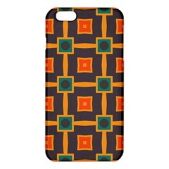 Connected shapes in retro colors                         			iPhone 6 Plus/6S Plus TPU Case