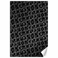 Geometric Grunge Pattern Canvas 20  X 30