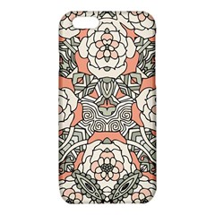 Petals in Vintage Pink, Bold Flower Design iPhone 6/6S TPU Case