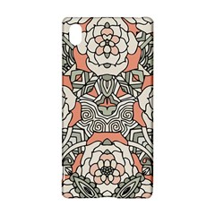 Petals in Vintage Pink, Bold Flower Design Sony Xperia Z3+ Hardshell Case