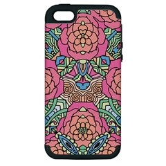 Petals, Carnival, Bold Flower Design Apple iPhone 5 Hardshell Case (PC+Silicone)