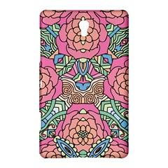 Petals, Carnival, Bold Flower Design Samsung Galaxy Tab S (8.4 ) Hardshell Case