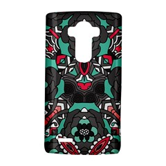 Petals in Dark & Pink, Bold Flower Design LG G4 Hardshell Case