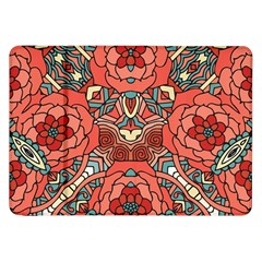 Petals in Pale Rose, Bold Flower Design Samsung Galaxy Tab 8.9  P7300 Flip Case