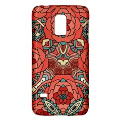 Petals in Pale Rose, Bold Flower Design Samsung Galaxy S5 Mini Hardshell Case