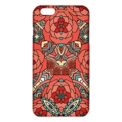 Petals in Pale Rose, Bold Flower Design iPhone 6 Plus/6S Plus TPU Case