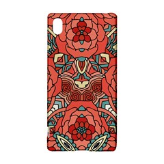 Petals In Pale Rose, Bold Flower Design Sony Xperia Z3+ Hardshell Case