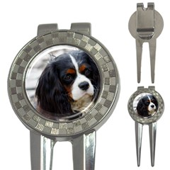 Cavalier King Charles Spaniel 2 3-in-1 Golf Divots