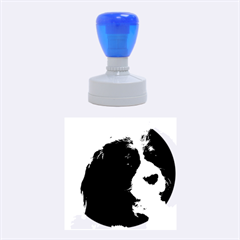 Cavalier King Charles Spaniel 2 Rubber Round Stamps (Medium)