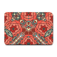 Petals In Pale Rose, Bold Flower Design Small Doormat