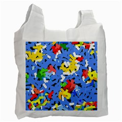 Rectangles mix                          			Recycle Bag (One Side)
