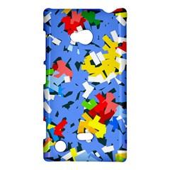 Rectangles mix                          Nokia Lumia 720 Hardshell Case
