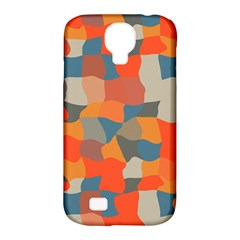 Retro colors distorted shapes                           Samsung Galaxy S4 Classic Hardshell Case (PC+Silicone)