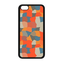 Retro colors distorted shapes                           Apple iPhone 5C Seamless Case (Black)