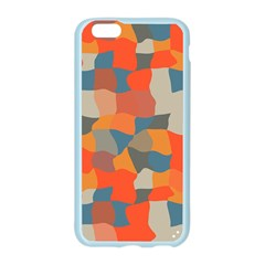 Retro colors distorted shapes                           Apple Seamless iPhone 6/6S Case (Color)