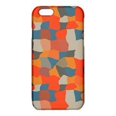 Retro colors distorted shapes                           			iPhone 6/6S TPU Case