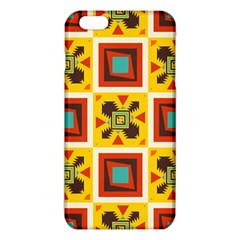 Retro Colors Squares Pattern                            			iphone 6 Plus/6s Plus Tpu Case