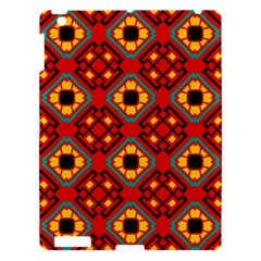 Flower shapes pattern                             			Apple iPad 3/4 Hardshell Case