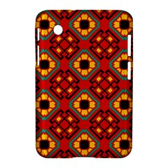 Flower shapes pattern                             			Samsung Galaxy Tab 2 (7 ) P3100 Hardshell Case