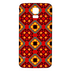 Flower Shapes Pattern                             			samsung Galaxy S5 Back Case (white)