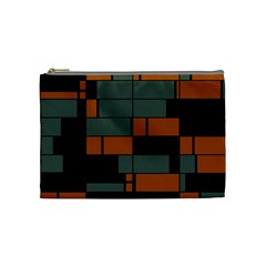 Rectangles in retro colors                              Cosmetic Bag
