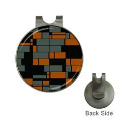 Rectangles in retro colors                              Golf Ball Marker Hat Clip