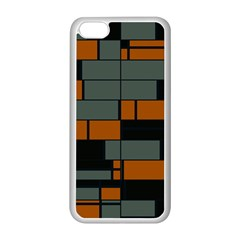 Rectangles in retro colors                              Apple iPhone 5C Seamless Case (White)