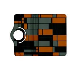 Rectangles in retro colors                              Kindle Fire HD (2013) Flip 360 Case