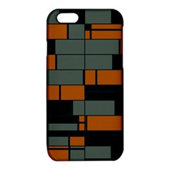 Rectangles in retro colors                              			iPhone 6/6S TPU Case