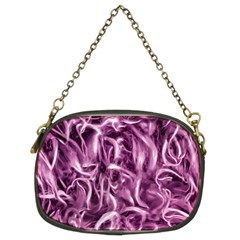 Textured Abstract Print Chain Purses (Two Sides)