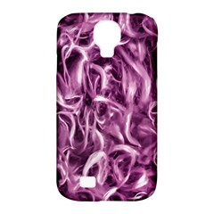Textured Abstract Print Samsung Galaxy S4 Classic Hardshell Case (PC+Silicone)