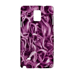 Textured Abstract Print Samsung Galaxy Note 4 Hardshell Case
