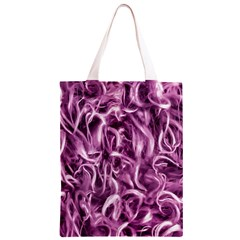 Textured Abstract Print Classic Light Tote Bag